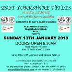EAST YORKSHIRE TITLES SUPER LEAGUE